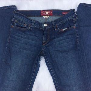 Lucky Brandy Charlie Skinny Jeans size 2/26